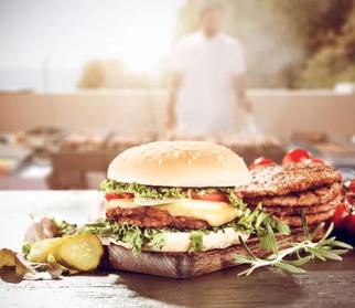 ground beef patties burgers